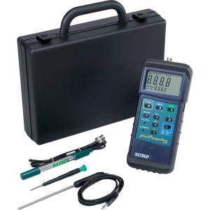 Kit de medidor de temperatura pH/mV para trabajos pesados