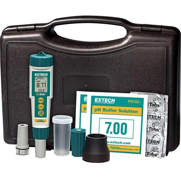 Kit ExStik® 3 en 1: cloro, pH y temperatura