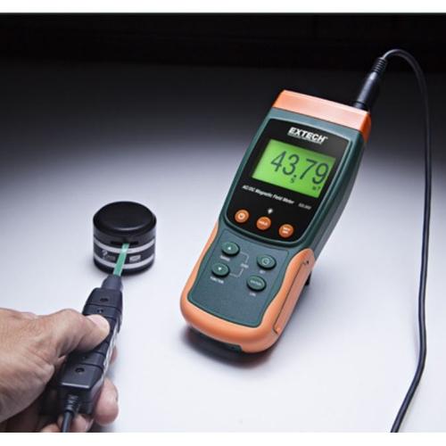 Medidor de campos magnéticos/