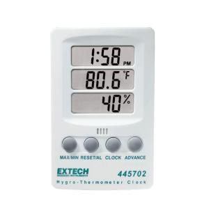 Reloj higrotermómetro