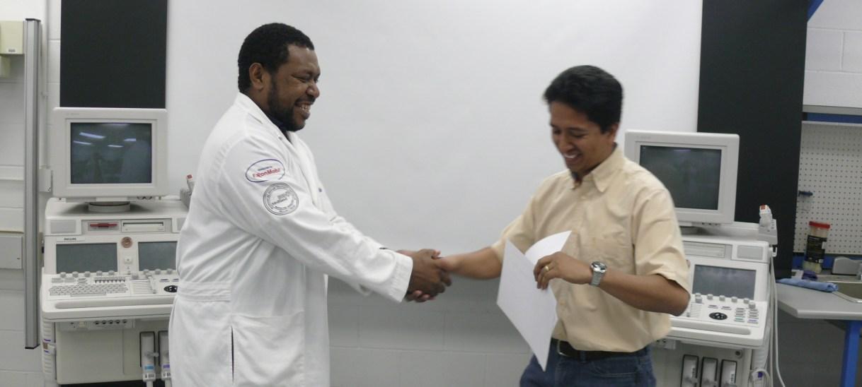 Meet Jason Maiasa, a MediSend biomedical technician trainee from Papua New Guinea