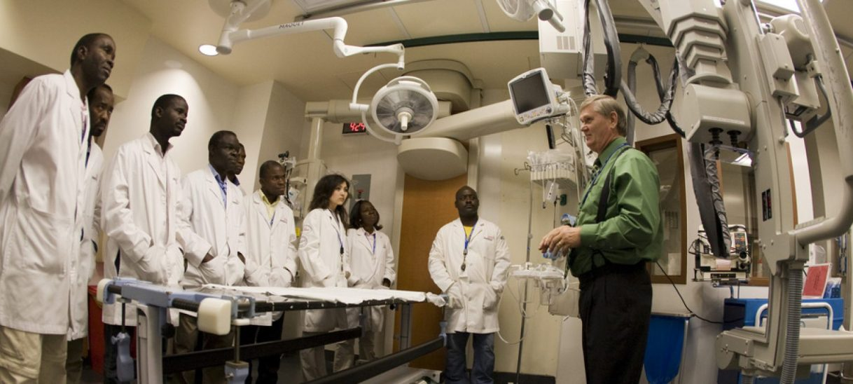 MediSend Biomedical Trainees from Six Developing Country Hospitals Visit Baylor Health Care System