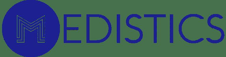 Medistics blue logo
