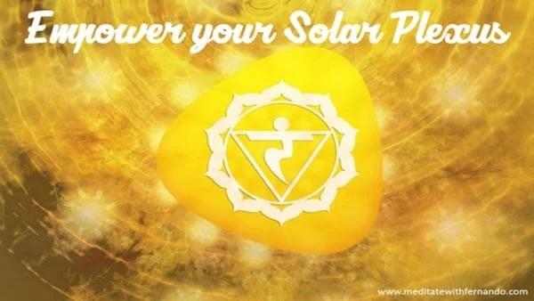 Empower your solar plexus in five easy steps.