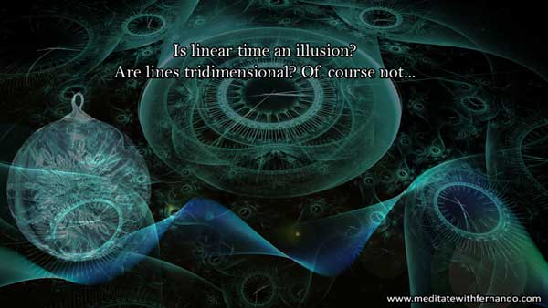 Linear time is an illusion.