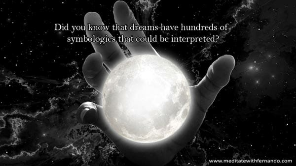 We receive messages from dreams all the time, we may have to share those dreams, or not!