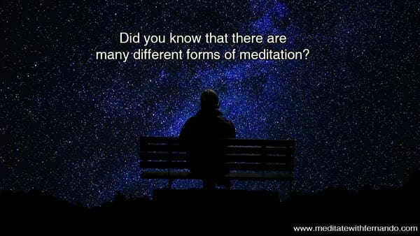 You can meditate if you want.