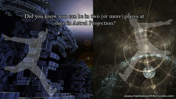 We can bylocate in other planes of existence.