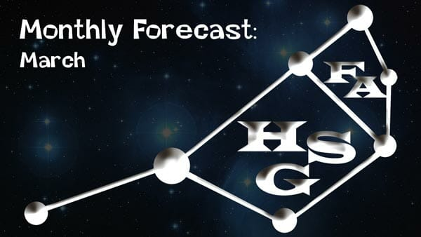 March forecast.