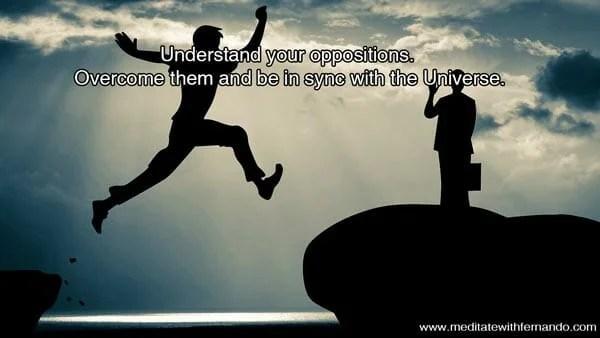 Understand Oppositions.