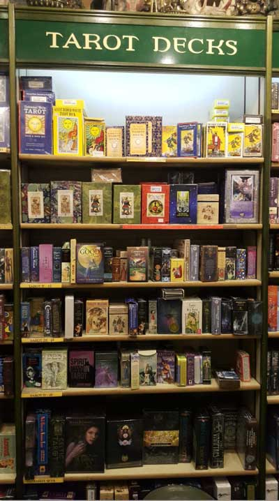 Watkins Books and the Conspiracy Tarot.