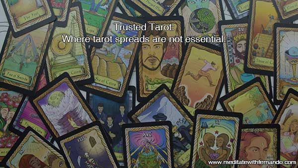 Trusted Tarot readings can happen without formats.