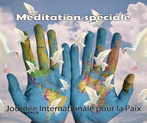 Méditation spéciale pour la paix