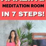 how to create an amazing meditation room in 7 steps