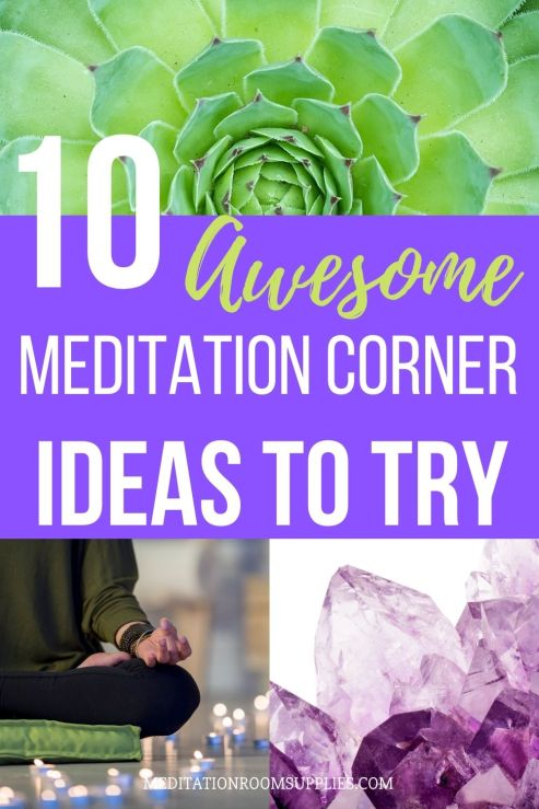 10 awesome meditation corner ideas to try