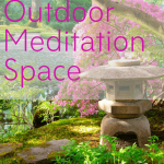 outdoor meditaiton space