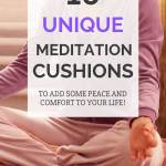 16 unique meditation cushions to add some peace and comfort to your life