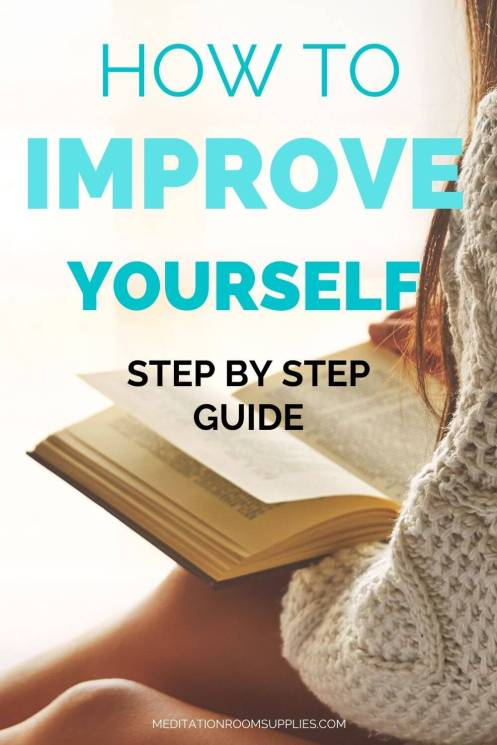 how to improve yourself step by step guide