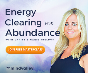 energy clearing for abundance with christie marie sheldon