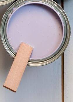 lavender color for relaxation room