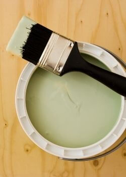 green paint for relaxation room