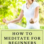 how to meditate for beginners guided meditations