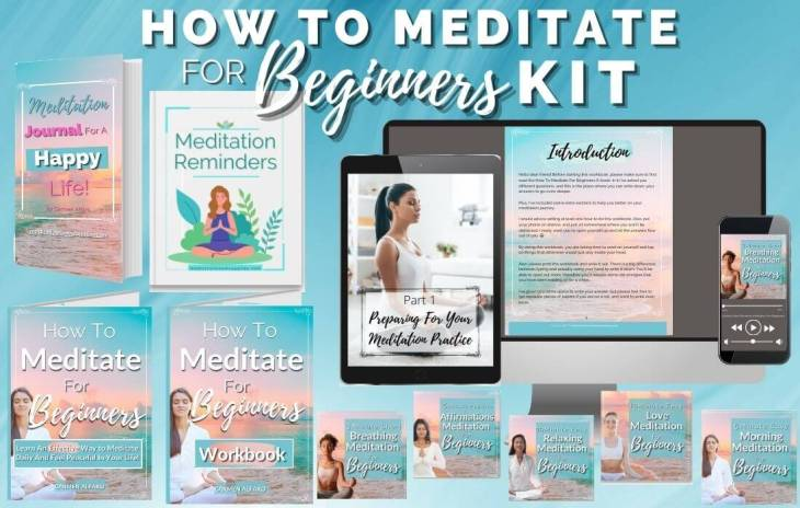 how to meditate for beginners kit