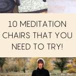 10 meditation chairs that you need to try