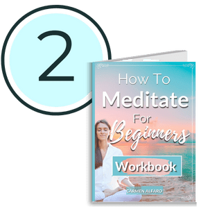 step 2 how to meditate for beginner workbook