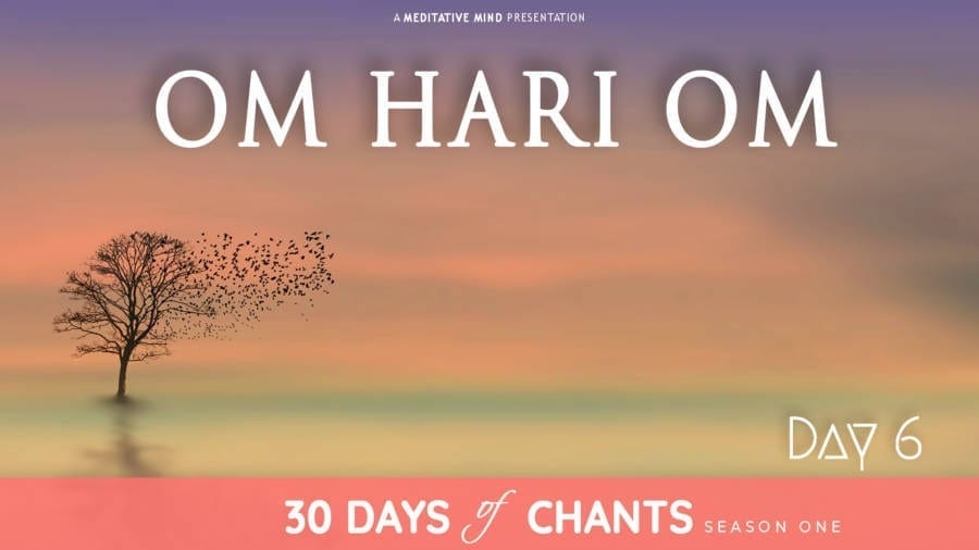 Day 6 | OM HARI OM | Powerful Healing Mantra