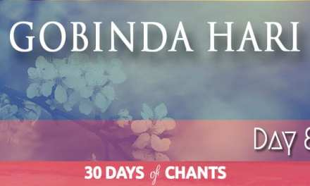 Day 8 | GOBINDA HARI