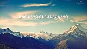 Ong Namo Guru Dev Namo Desktop Wallpaper