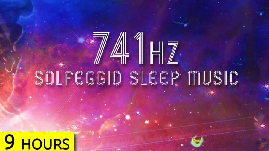 741Hz Solfeggio sleep music2