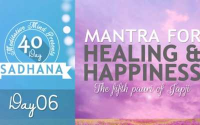 Day 06 of #40DaySADHANA | Mantra for Healing, Happiness and Overcoming Failure – Thapeya Na Jaaye