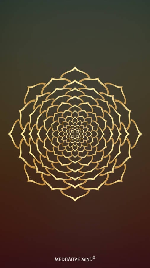 Golden Mandala Wallpaper5 by MeditativeMind