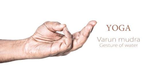 Varun mudra for sacral chakra