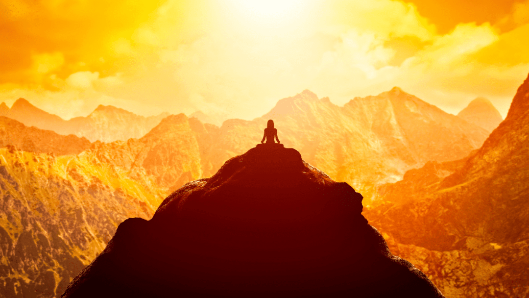 yoga by the sun signifying powerful mantra for life