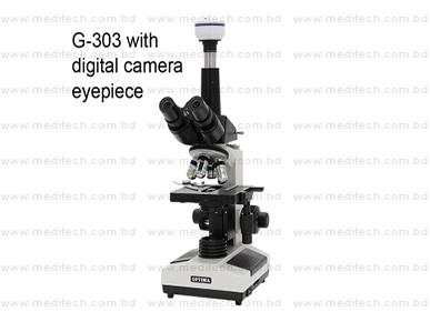 BIOLOGICAL MICROSCOPE G-303