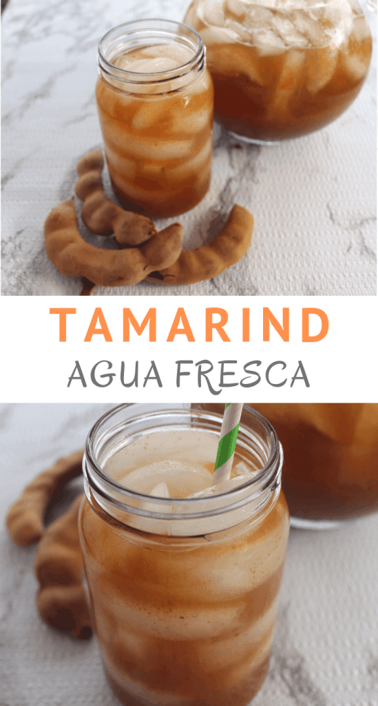 Homemade, refreshing Tamarind Agua Fresca