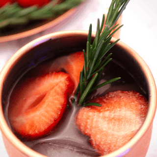 Moscow Mule Acai & Strawberry Caipiroska