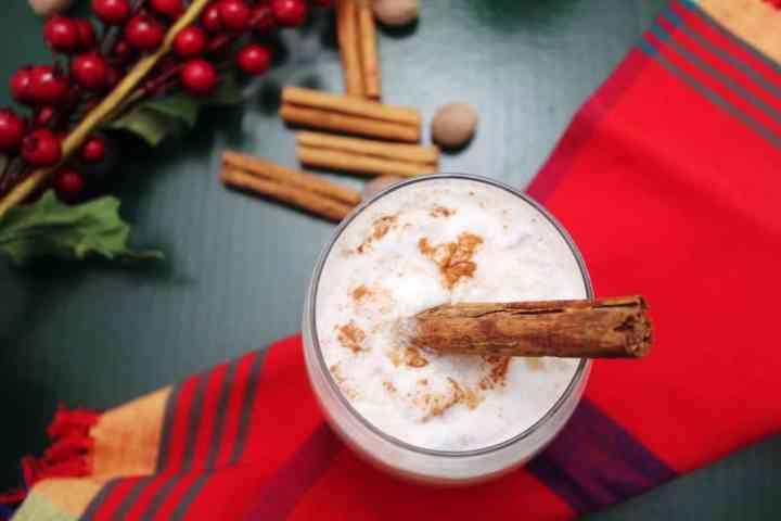 Eggless Christmas Coconut Cocktail