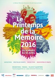 Le Printemps de la Mémoire 2016