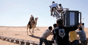 Tournage au Maroc