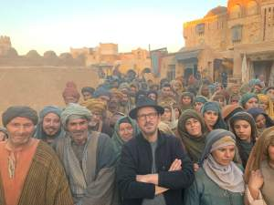 Filming in Tunisia