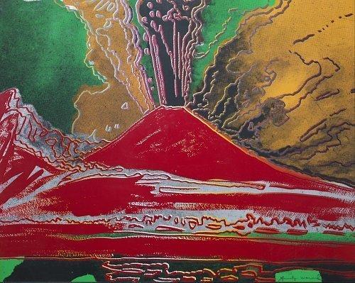 Il Vesuvio di Andy Warhol  MediterraneoAntico