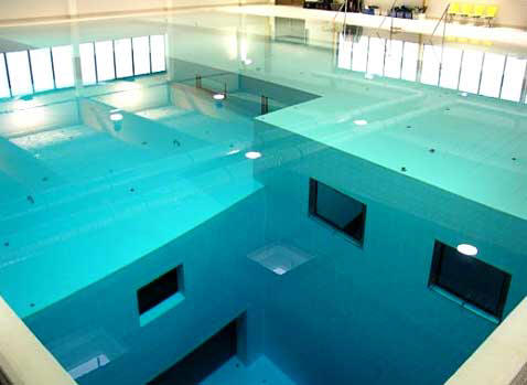 La piscina pi profonda del mondo