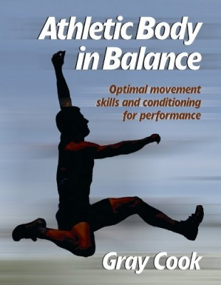 book cover - athletic body in balance