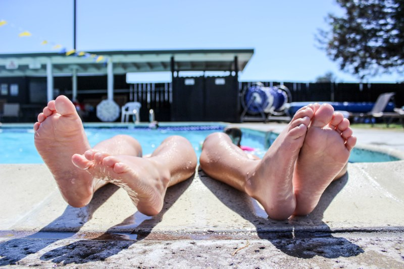 Foot Care Around The Pool
