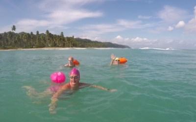 Delightful Swimming In The Dominican Republic