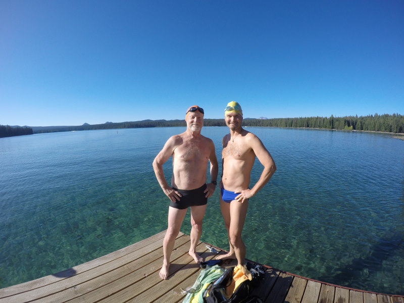 The Lure Of High Lake Swimming
